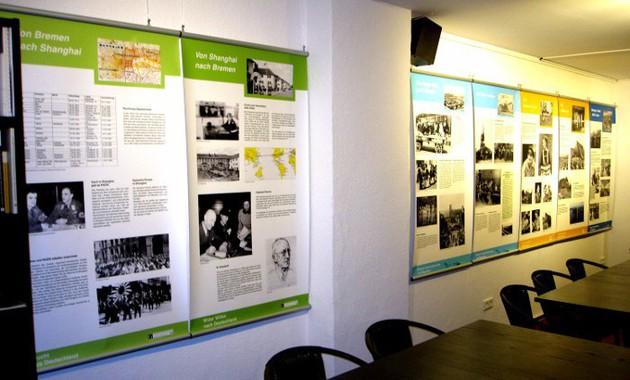 Migrationsausstellung in den neuen Räumen der Geschichtswerkstatt Gröpelingen e.V.