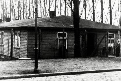 Baracke des Zwangsarbeitslagers Graf Spee