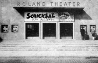 Roland-Theater in der Lindenhofstr. um 1948