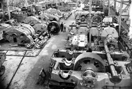 Maschinenbauhalle 2, innen