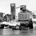 Die Getreideverkehrsanlage (GVA) um 1955